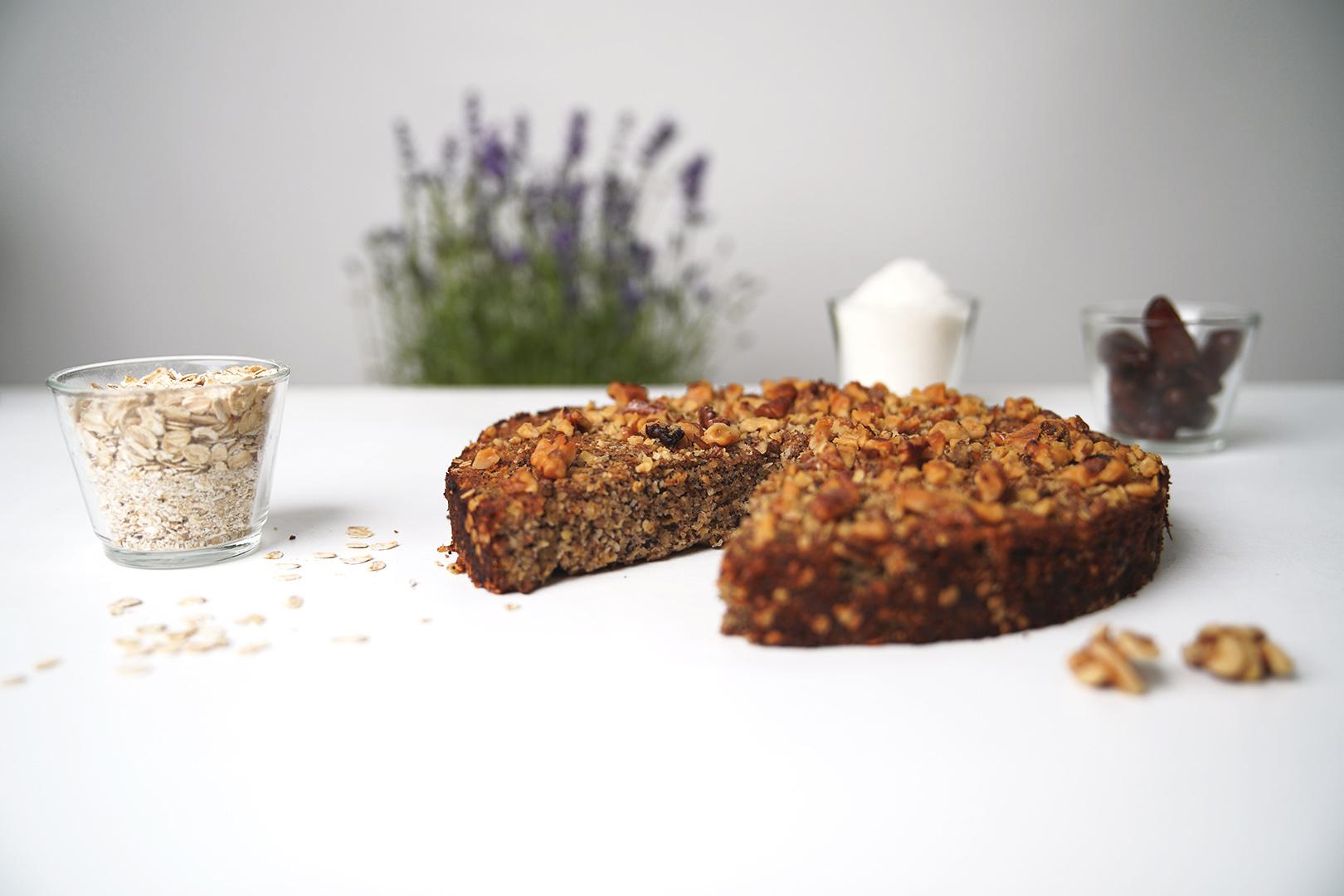 Schnellster gesunder Kuchen – ohne Zucker und Mehl