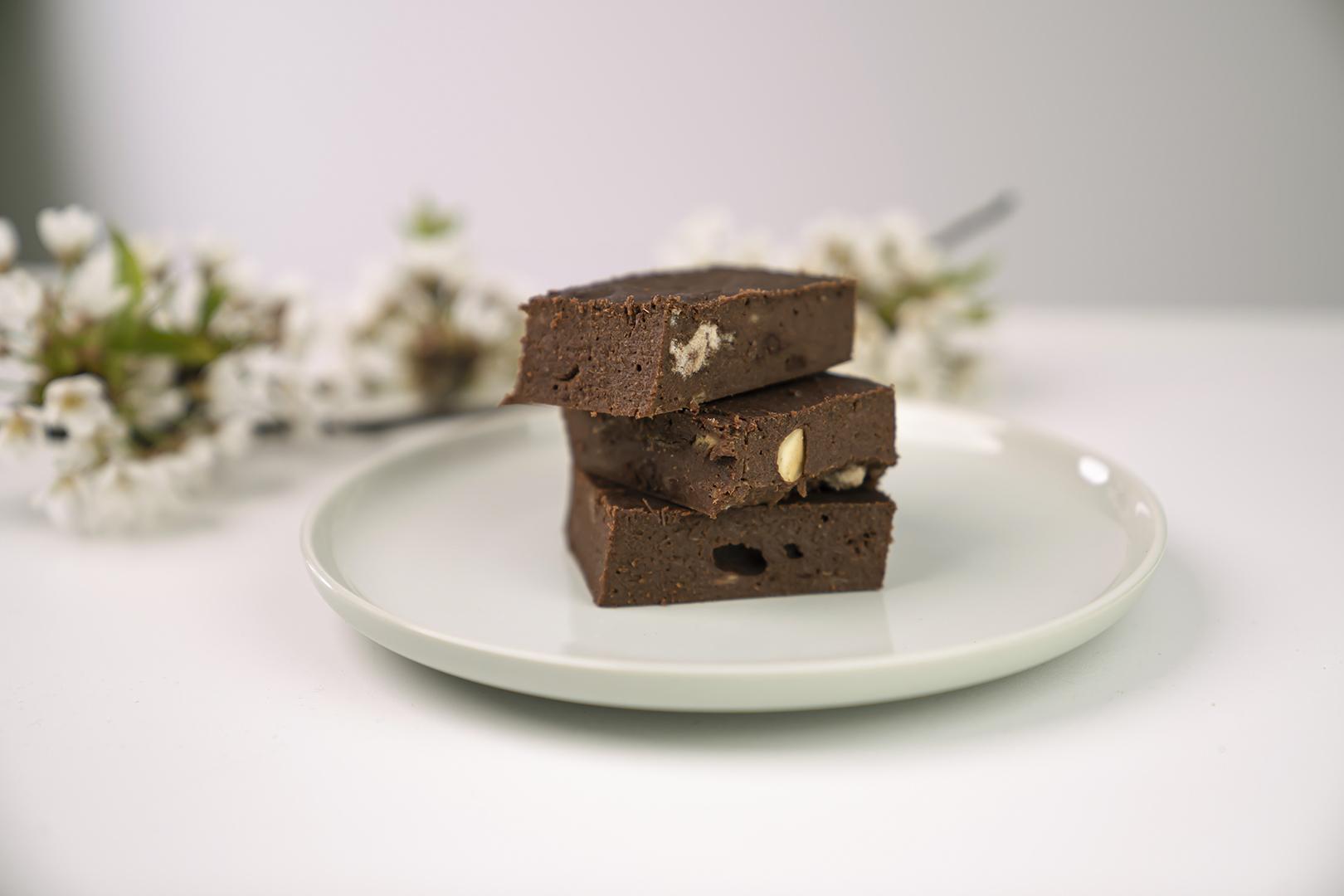 Zuckerfreie Dattel Brownies